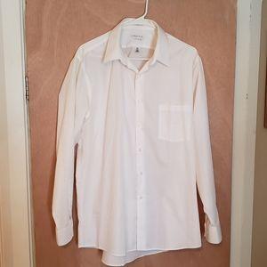 Van Heusen Button Down Dress Shirt 16.5 34/35
